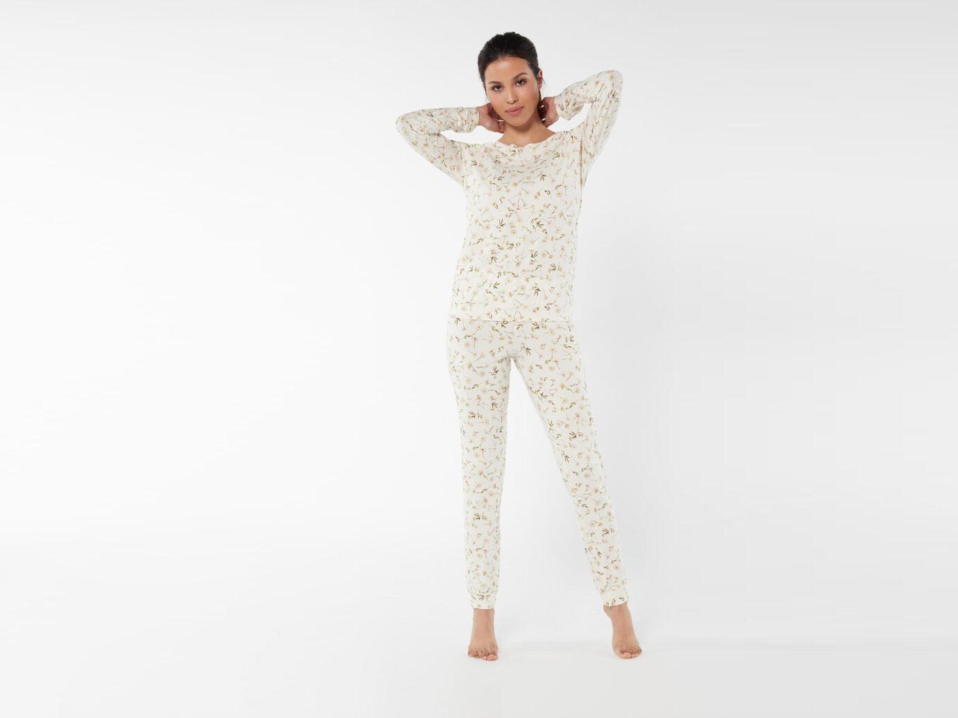Intimissimi Daisies Garden Long Modal Pajamas