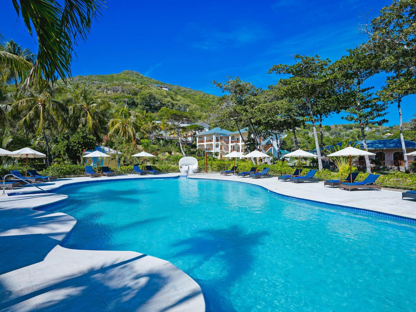 Main pool at Bequia Beach Hotel