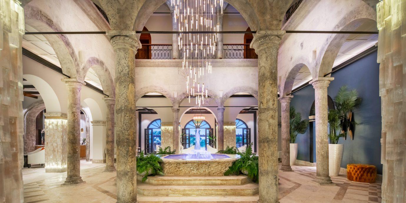 Lobby at Sanctuary Cap Cana Dominican Republic
