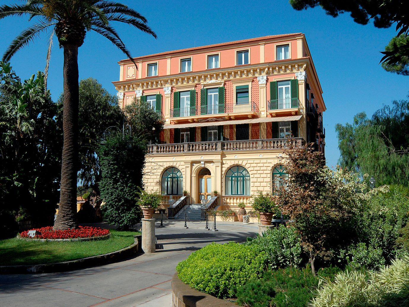 Exterior view of Grand Hotel Excelsior Vittoria Sorrento, Italy