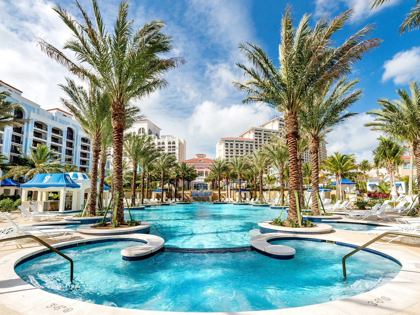 Pool at the Grand Hyatt Baha Mar