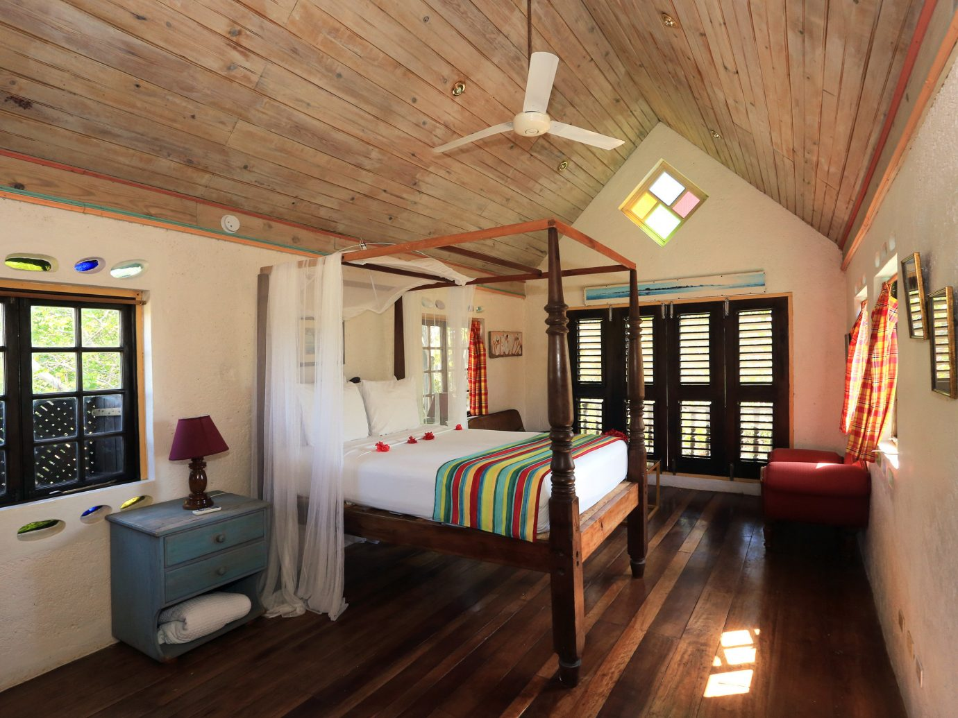 Bedroom at Jake's Treasure Beach, Jamaica