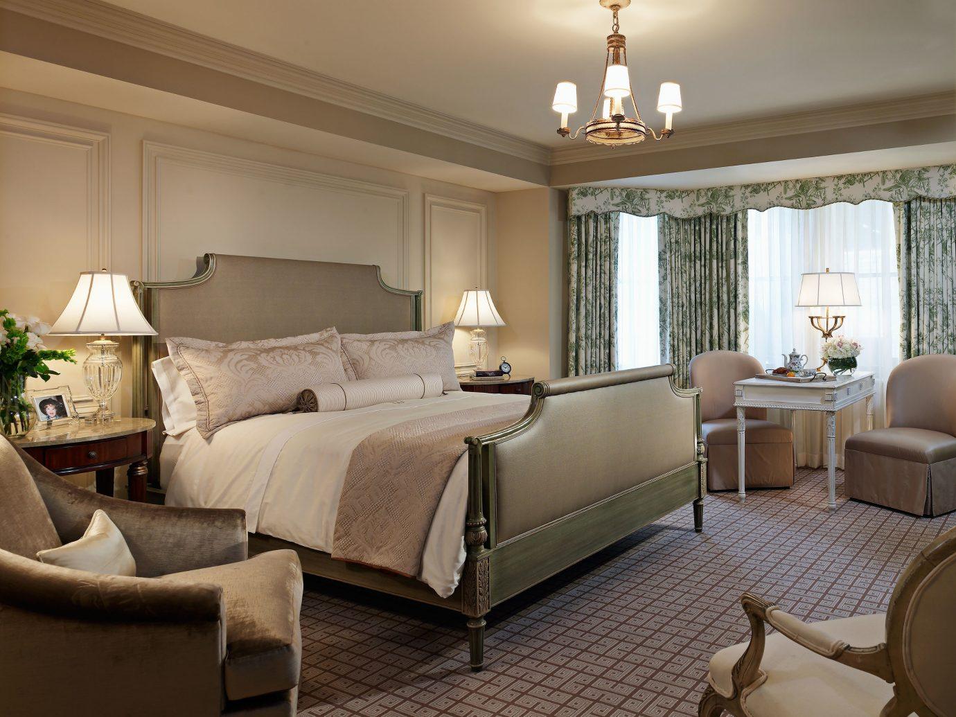 Bedroom at The Jefferson, Washington D.C.