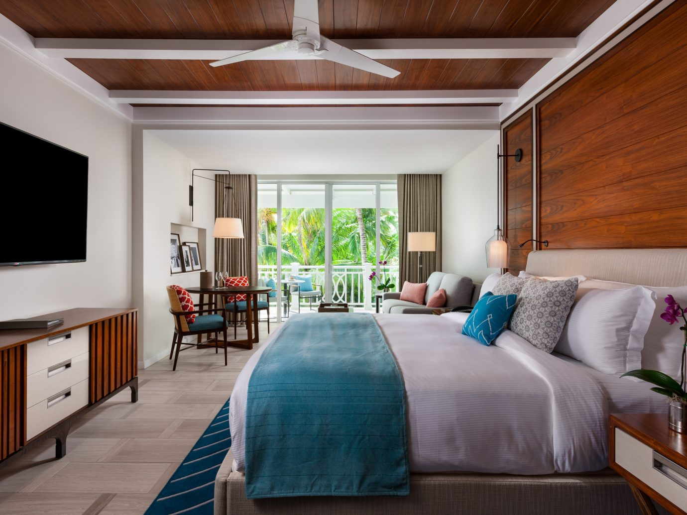 Bedroom at Four Seasons Ocean Club Bahamas