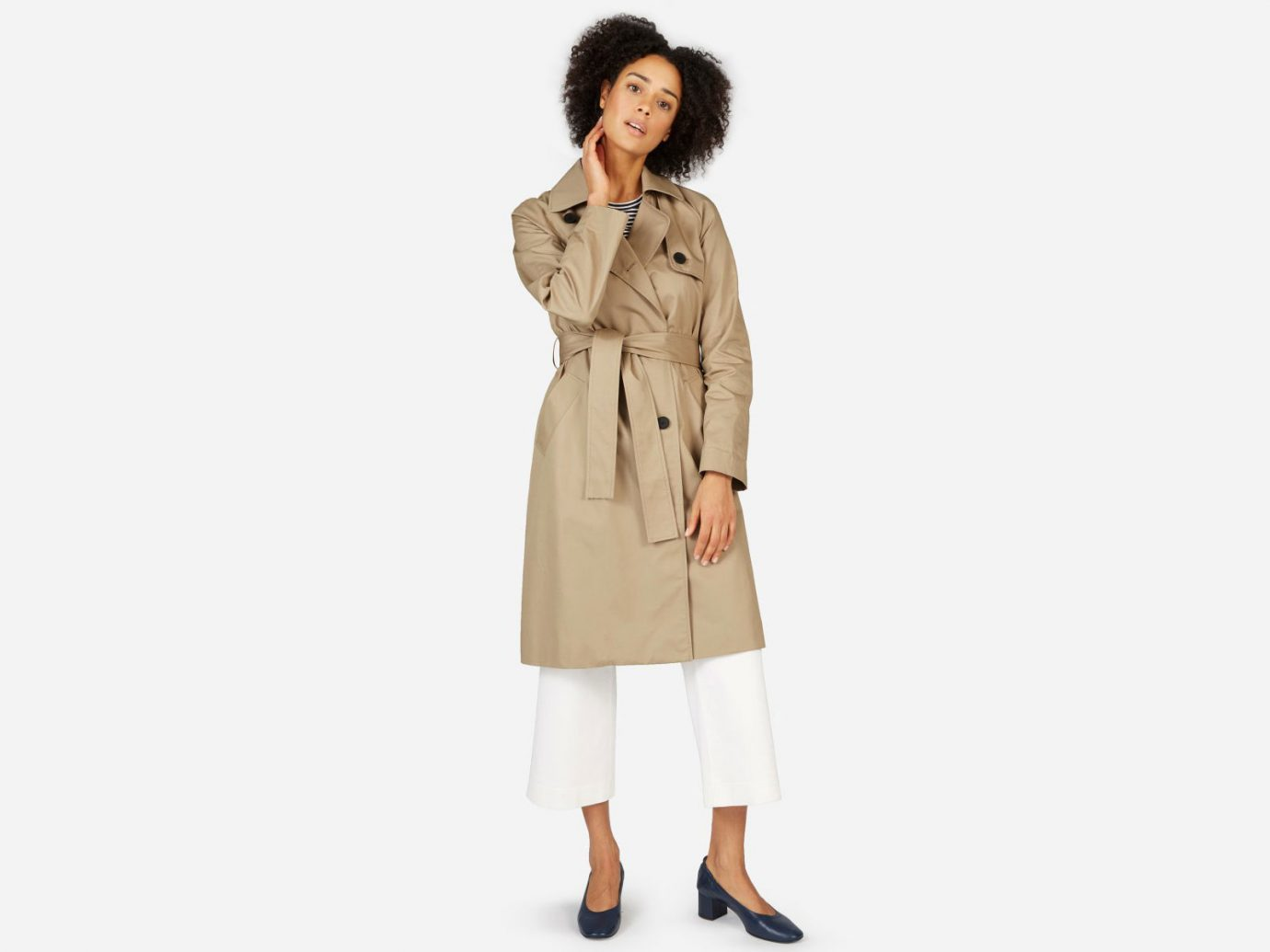 The Drape Trench Coat