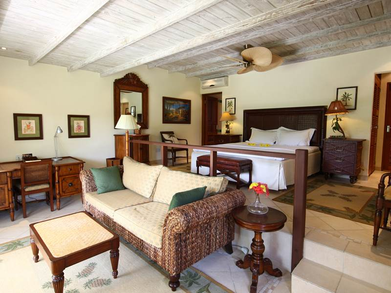 Bedroom at Bequia Beach Hotel