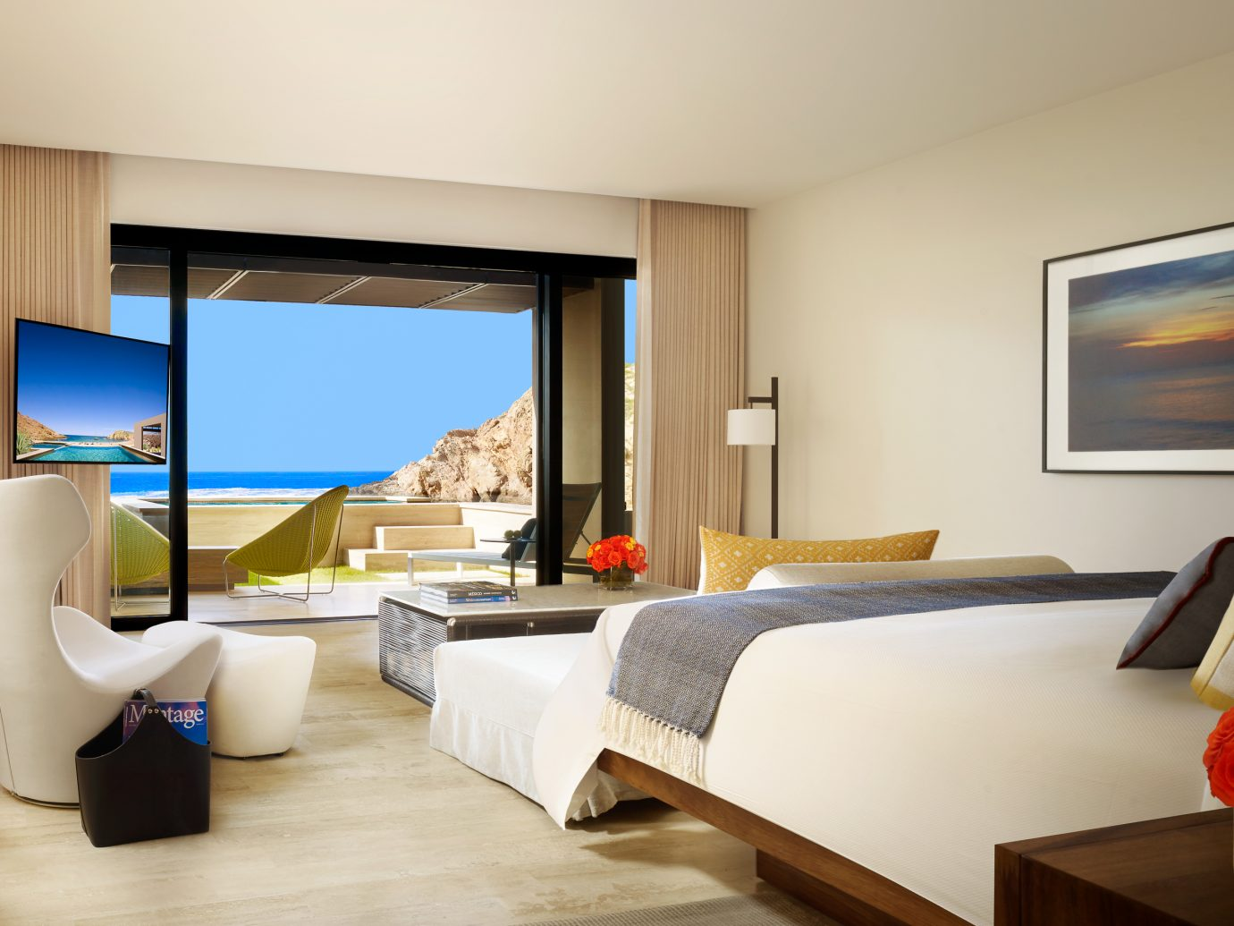 Bedroom at Montage Los Cabos