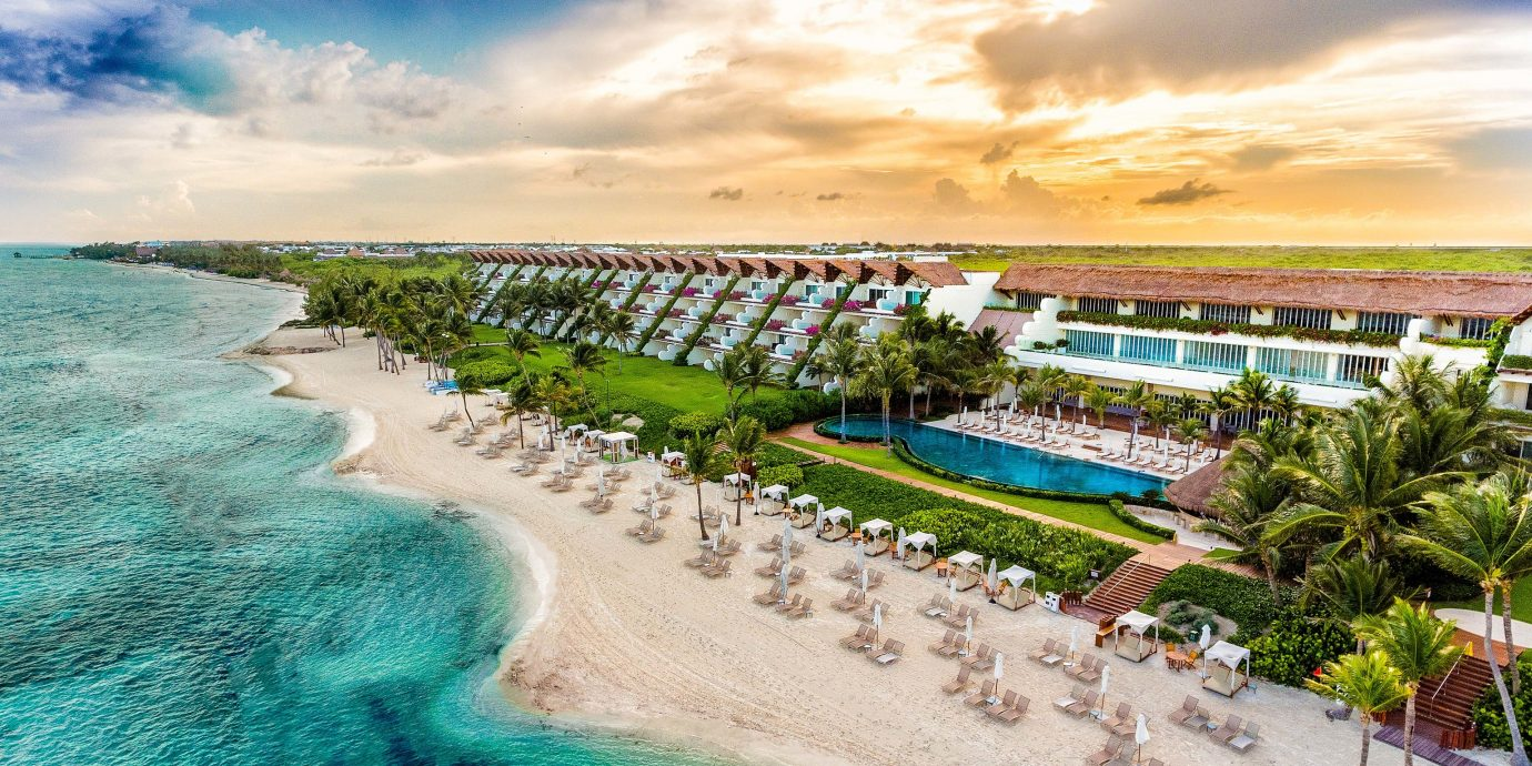 Aerial view of Grand Velas Riviera Maya