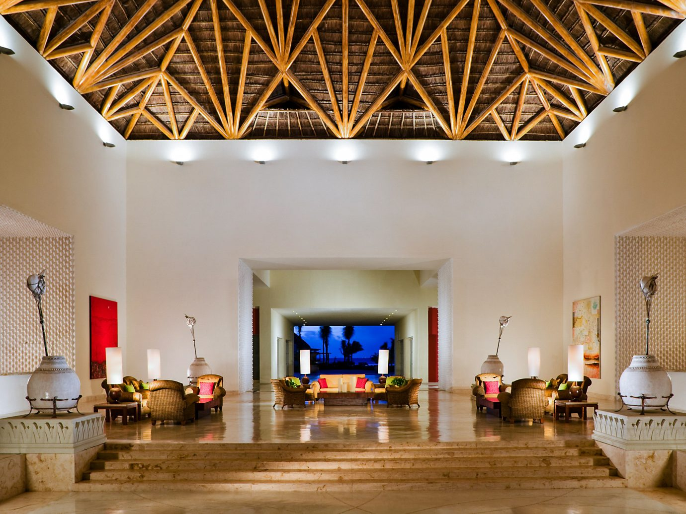 Lobby at Grand Velas Riviera Maya