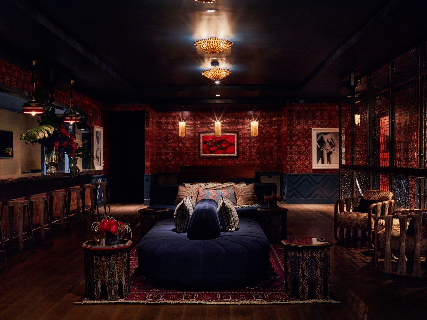 Interior of Bar Bevy in Miami