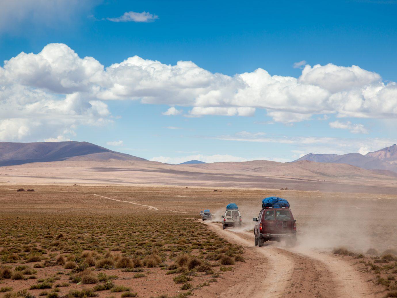 3 4x4 in the Bolivian Altiplano