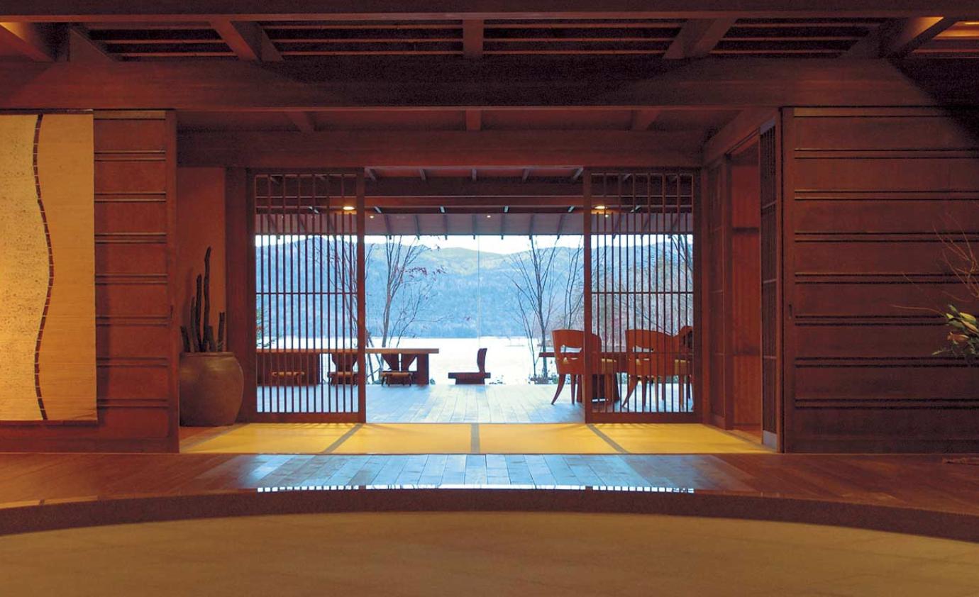 Interior of Hinanoza