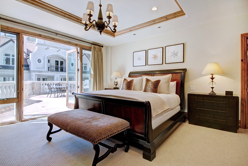 Bedroom at the The Arrabelle at Vail Square