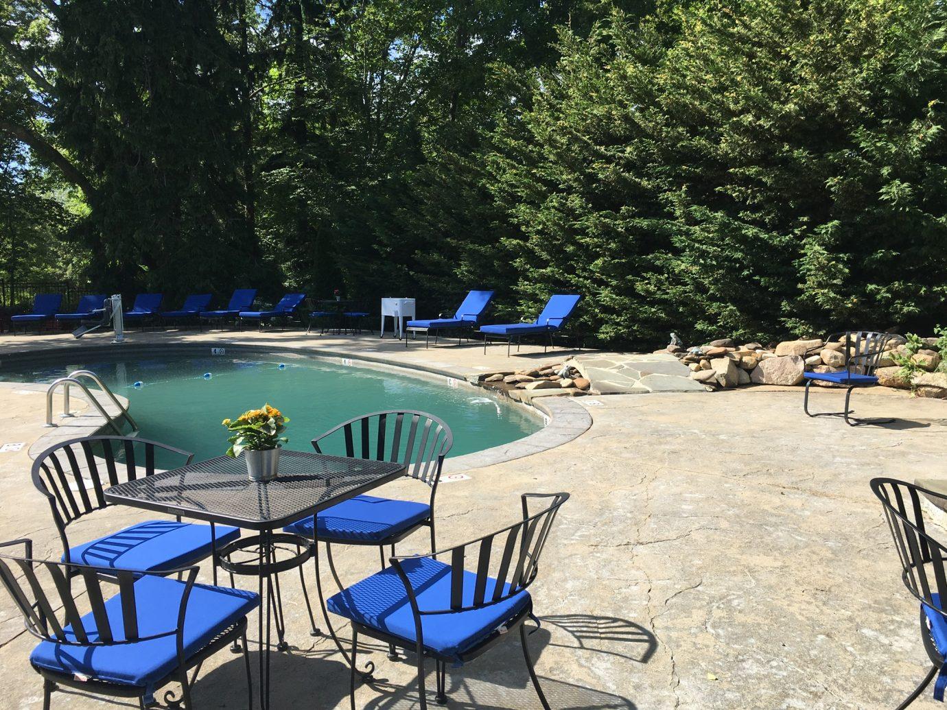 Pool at Lambert's Cove Inn