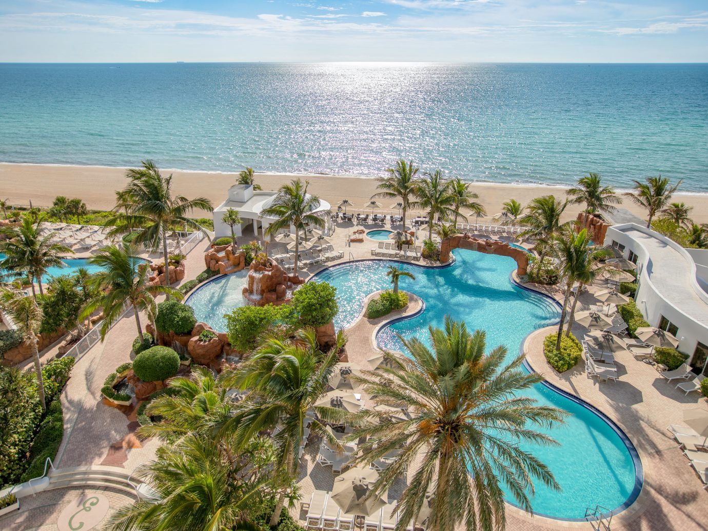 Aerial of Trump International Beach Resort, Sunny Isles Beach, FL