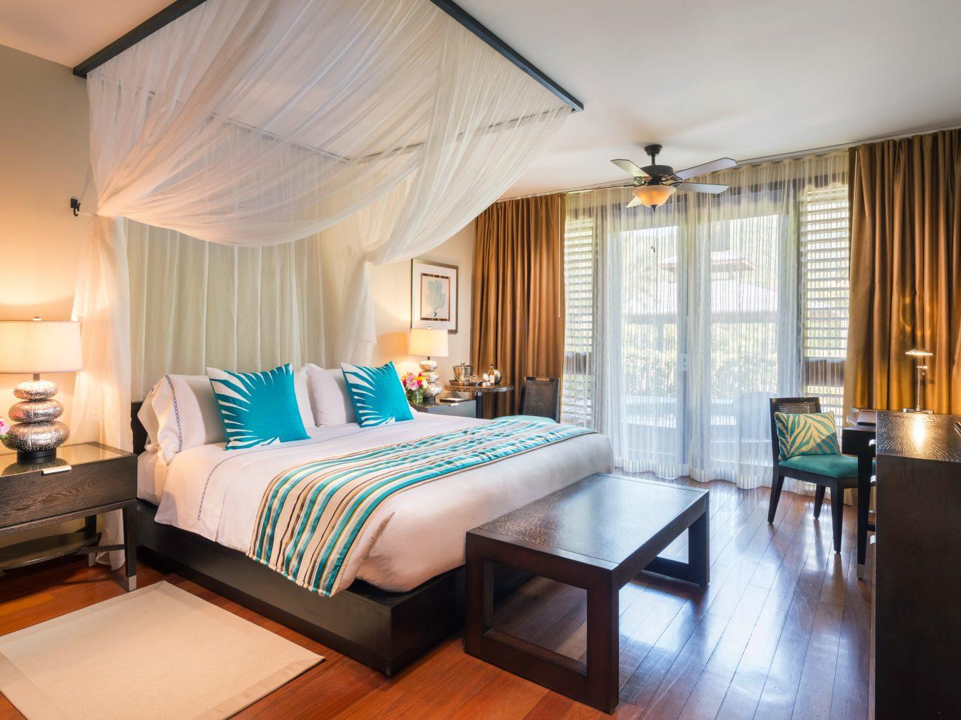 Bedroom at Marigot Bay Resort & Marina