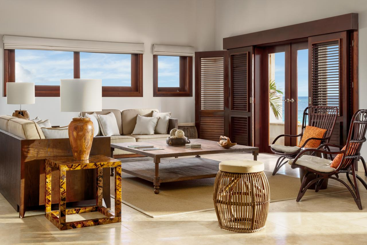 Living room at Zemi Beach House