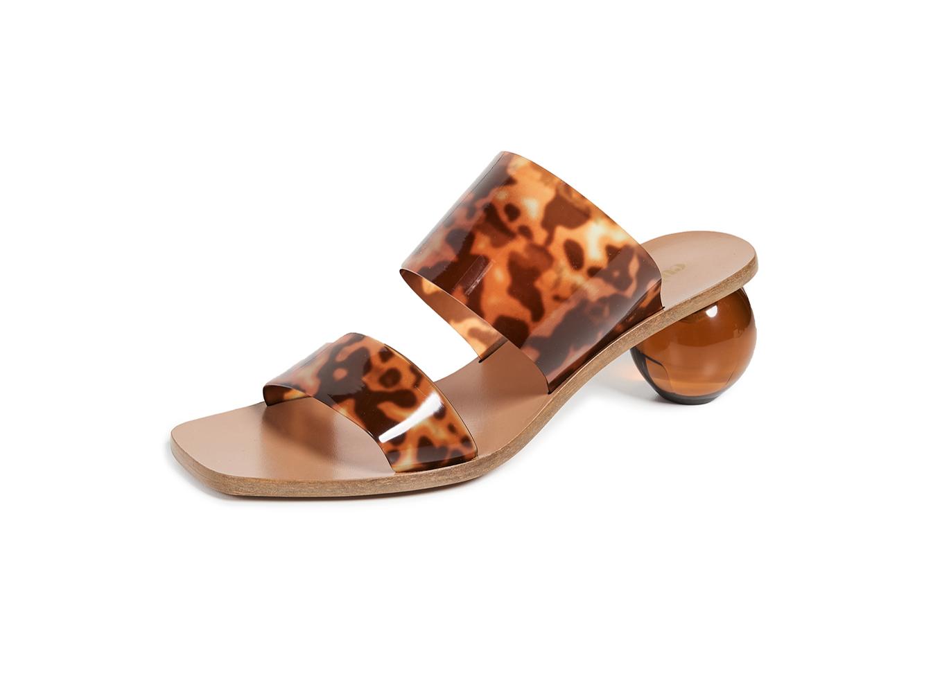 Cult Gaia Jila Heel Slide Sandals