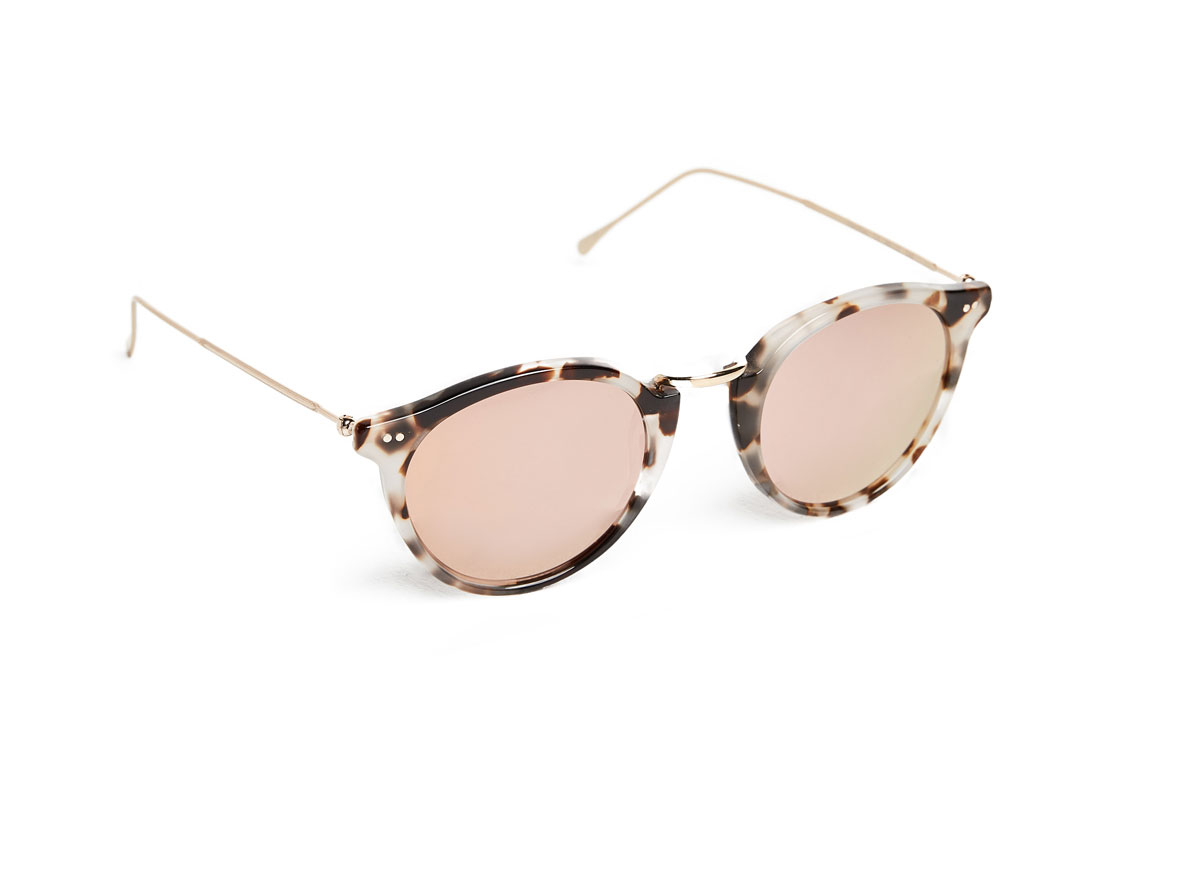 Illesteva Portofino Mirrored Sunglasses