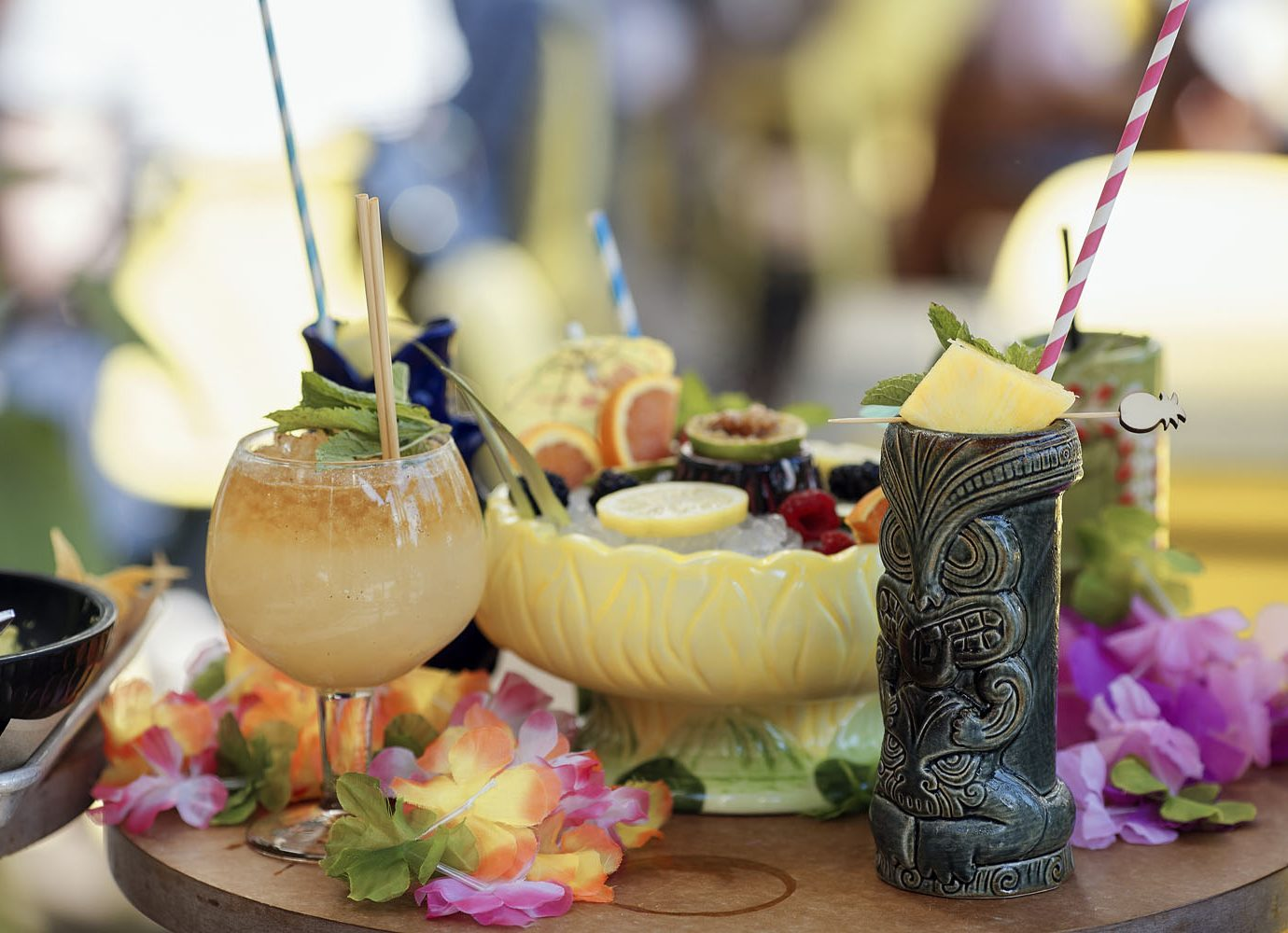 Tiki drinks at Farmers Fishers Bakers