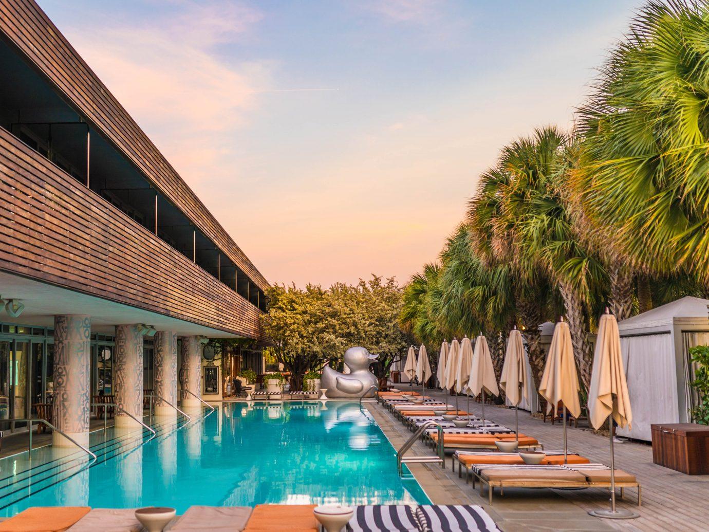 pool at SLS South Beach, Miami Beach, FL