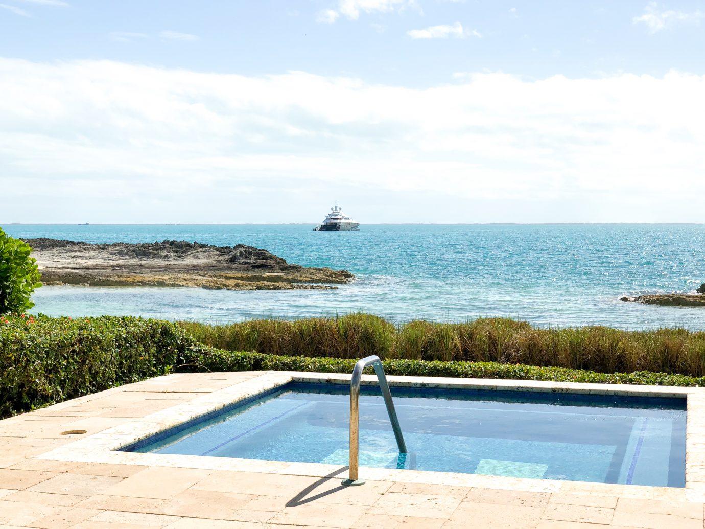 Private pool at Royal Island