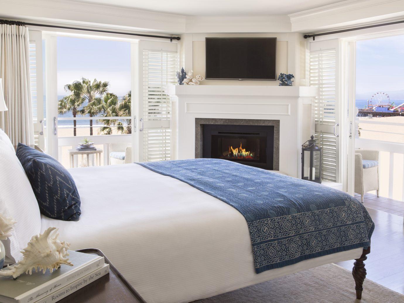 Ocean view guestroom at Shutters on the Beach, Santa Monica, CA