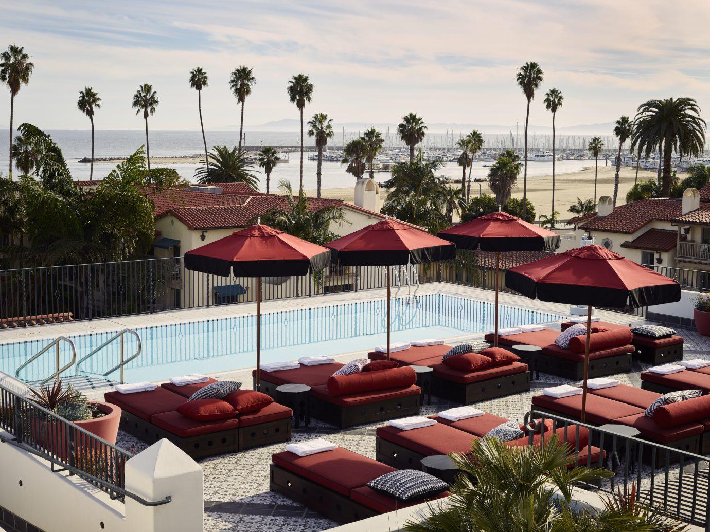 pool at Hotel Californian, Santa Barbara, CA