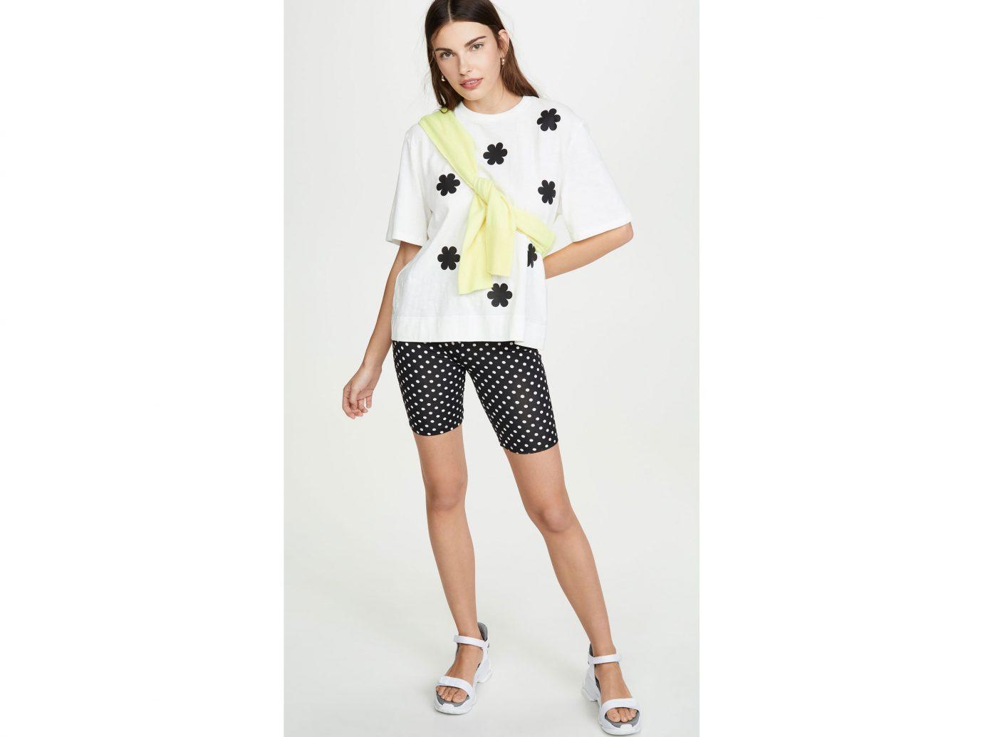 English Factory Polka Dot Bike Shorts