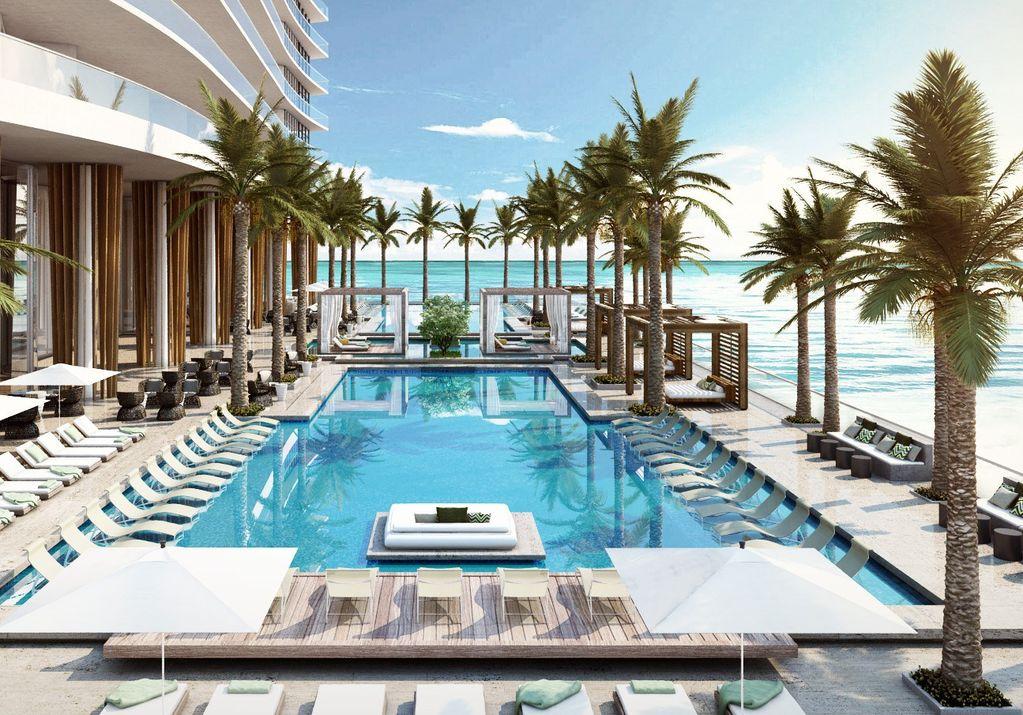 Hyde Resort & Residences pool