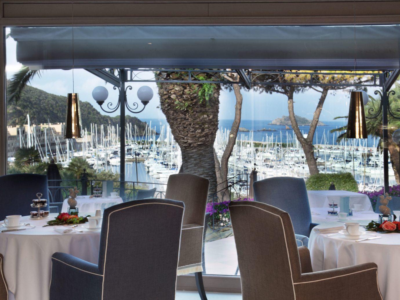 Restaurant at Baglioni Hotel Cala del Porto