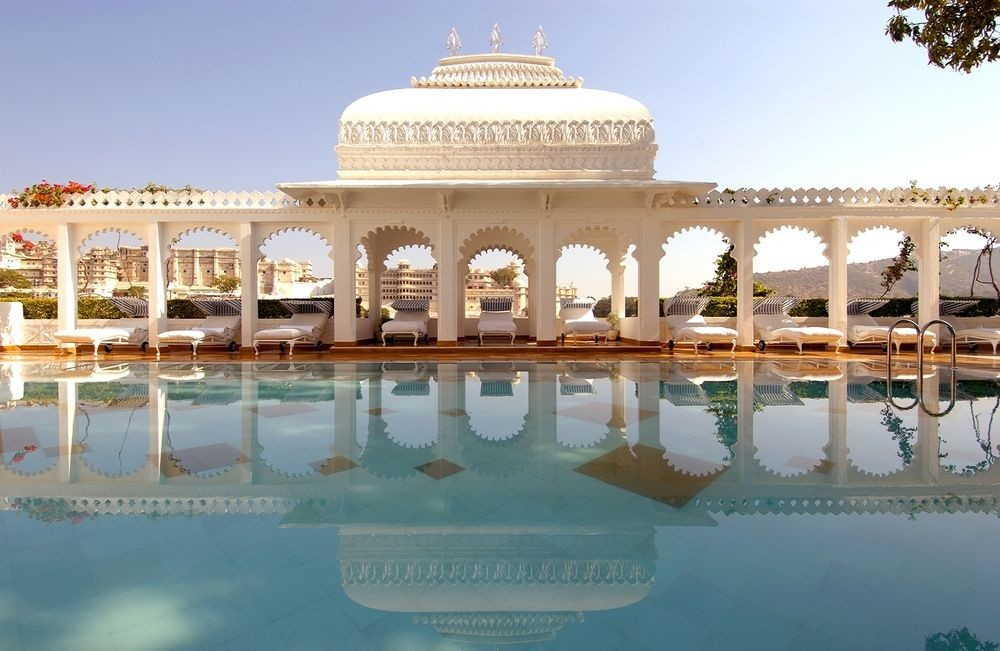 Pool at Taj Lake Palace, Udaipur