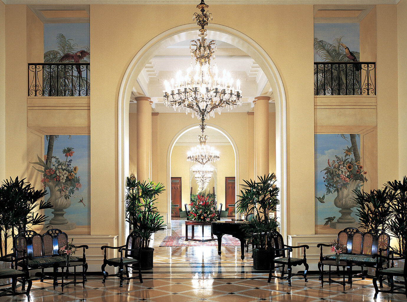 Lobby at Copacabana Palace, Rio