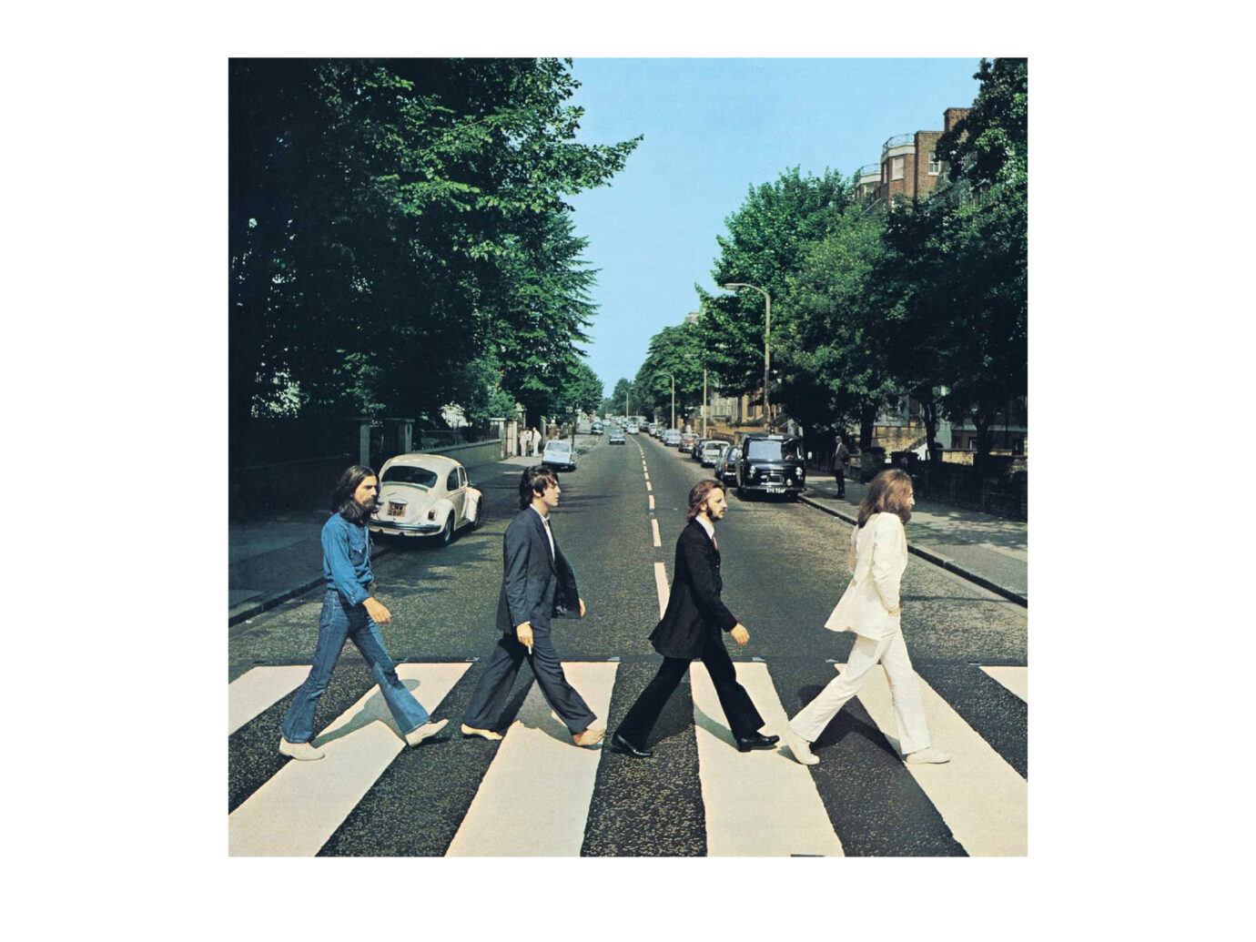The Beatles Abbey Road LP