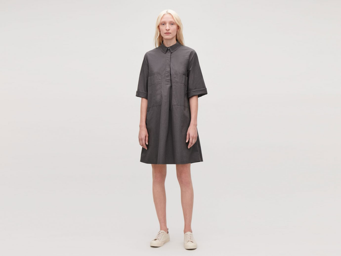 COS CASUAL A-LINE POCKET DRESS