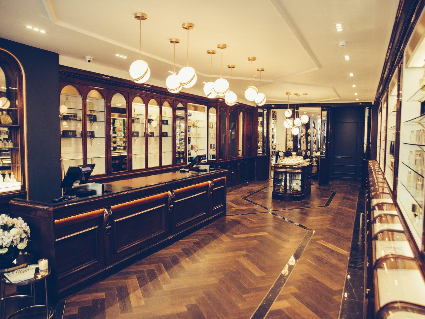 Interior of Floris in London