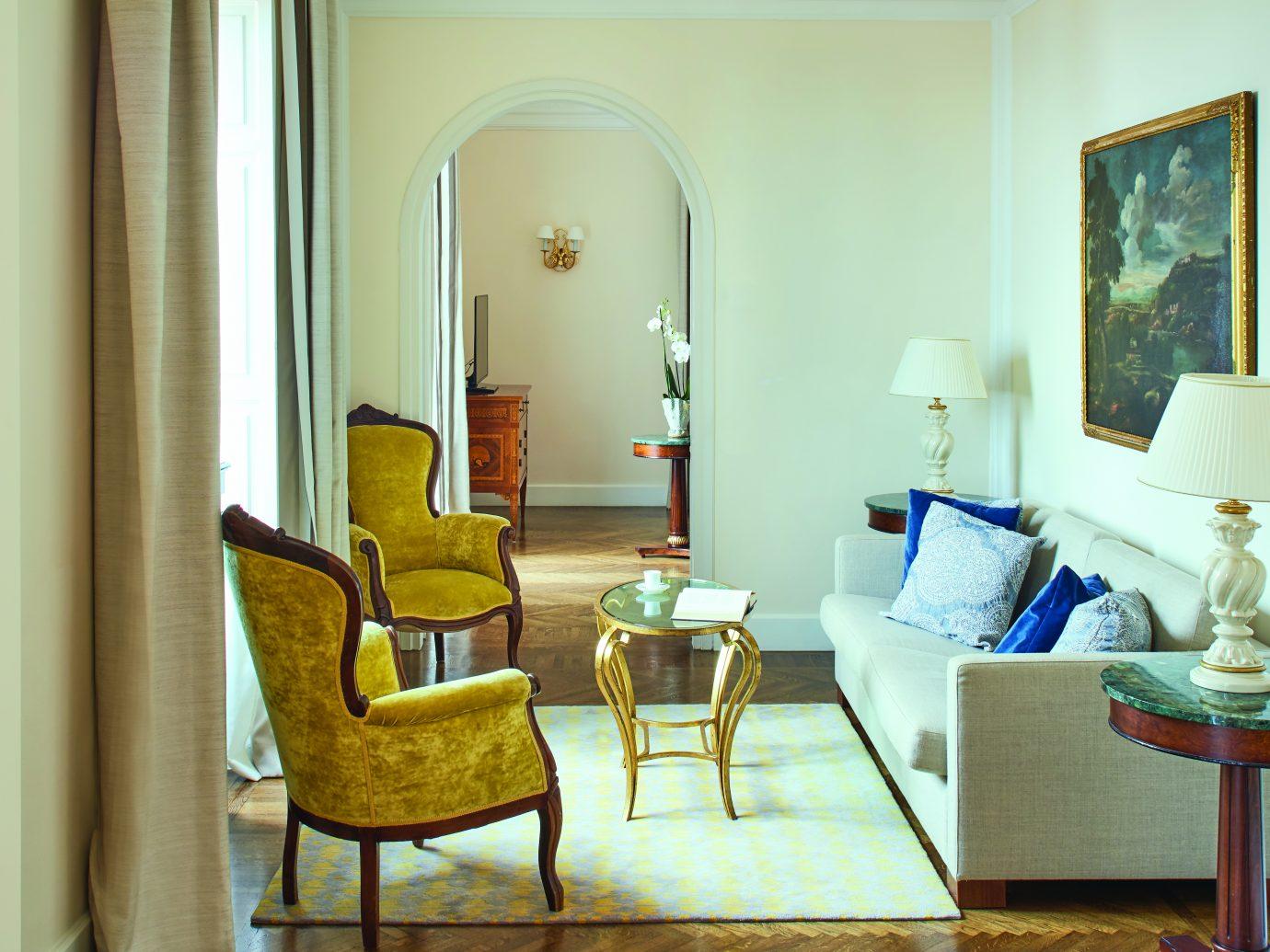 Livingroom at Belmond Hotel Grand Timeo