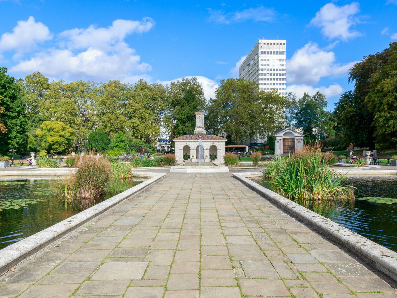 The Italian Gardens at Hyde Park, London