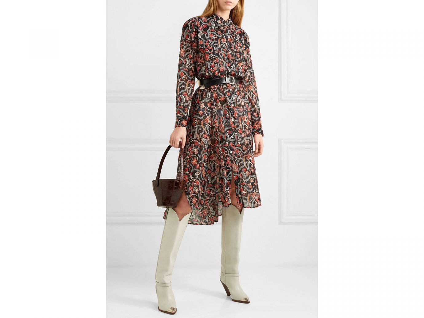 Isabel Marant Étoile Eliane printed cotton-voile dress
