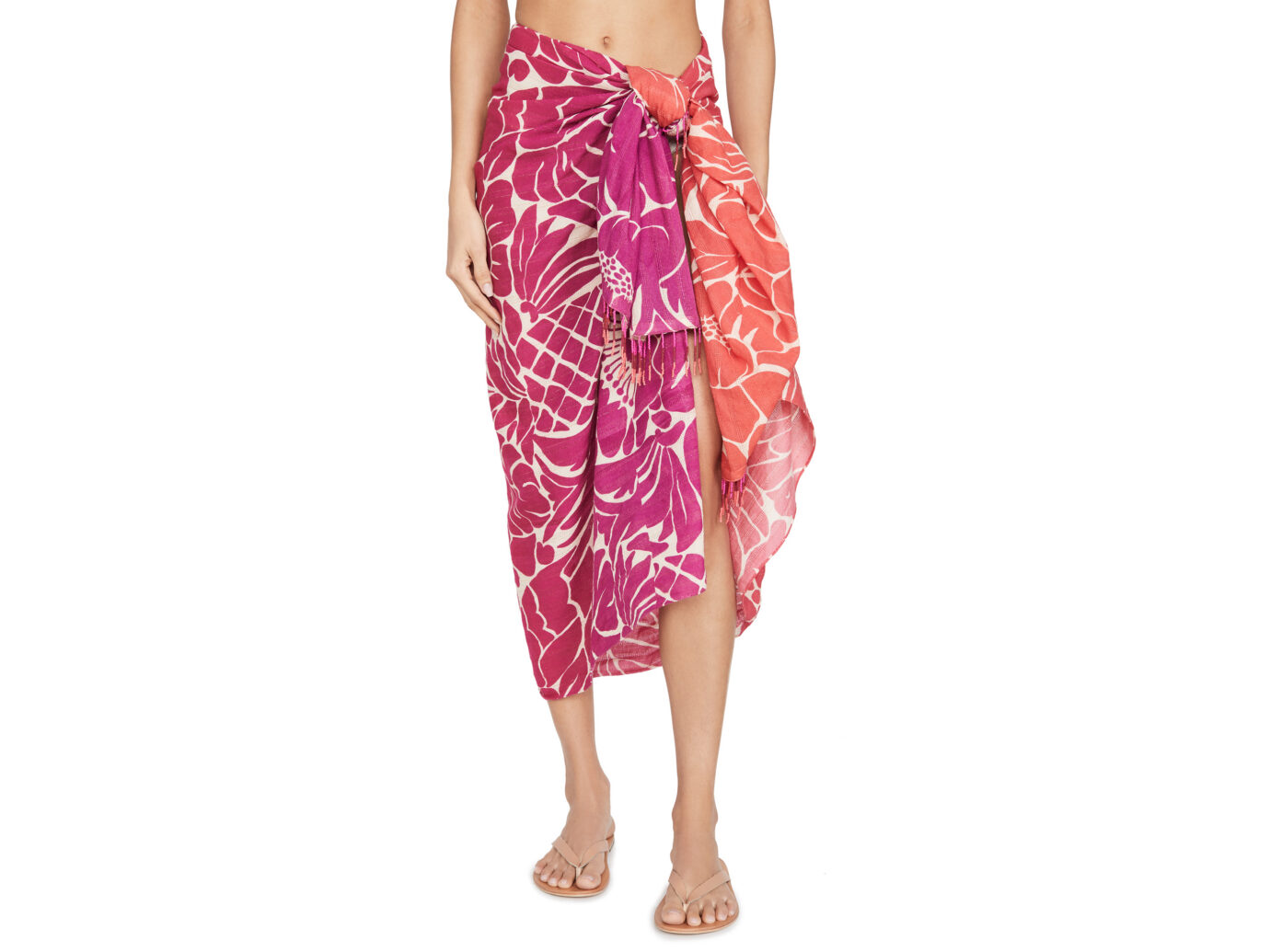 FARM Rio Graphic Dreams Sarong Cover Up