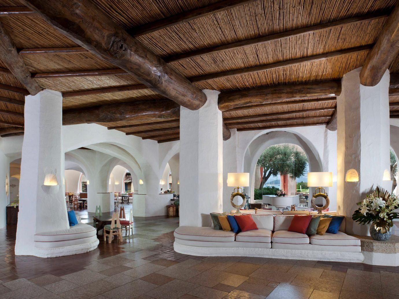 Lobby at Hotel Cala di Volpe