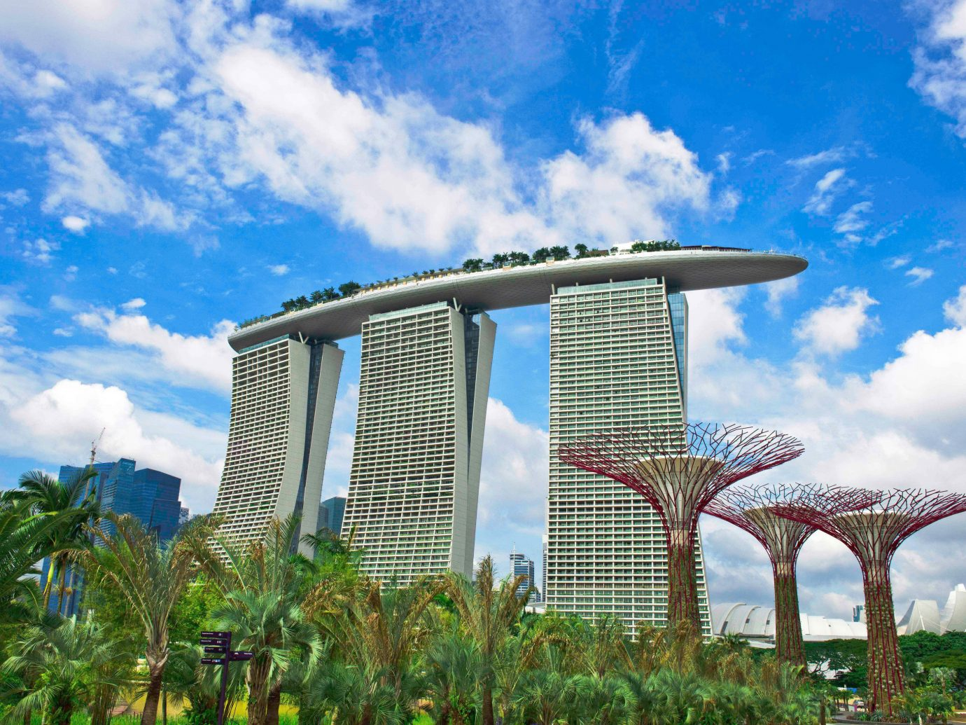 Exterior of Marina Bay Sands, Singapore
