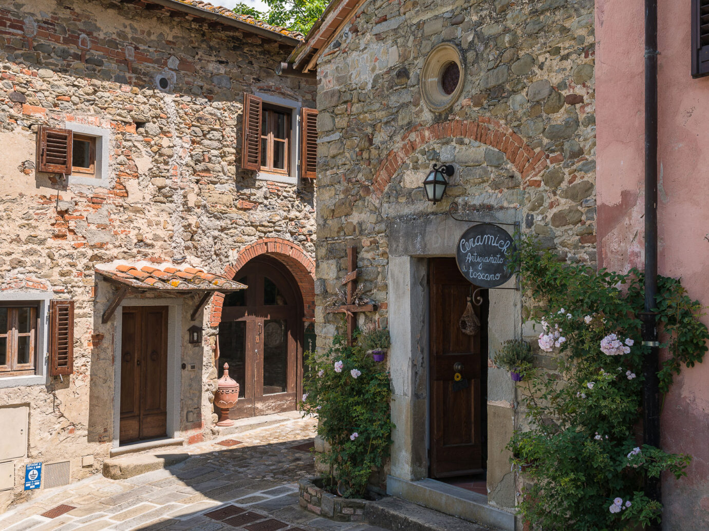 village near Il Borro