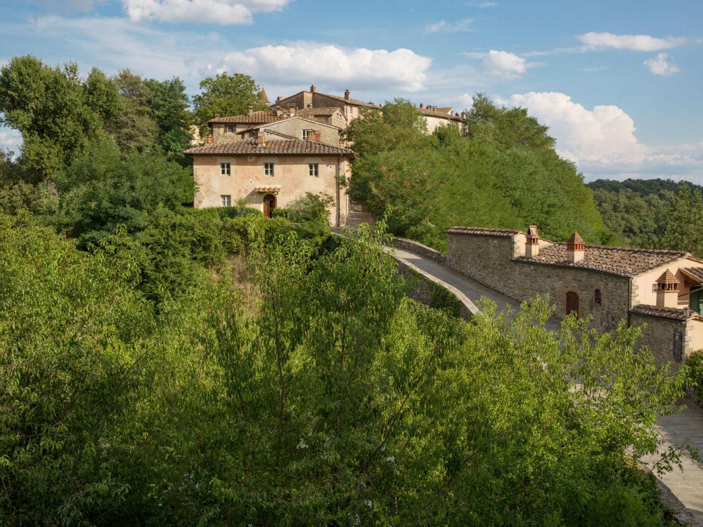 grounds at Il Borro
