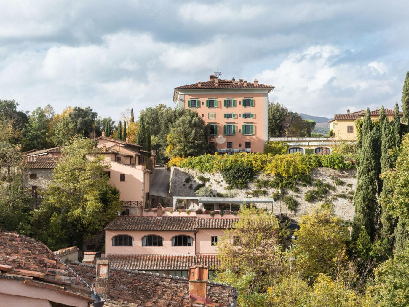 Grounds at Il Borro Relais, Tuscany
