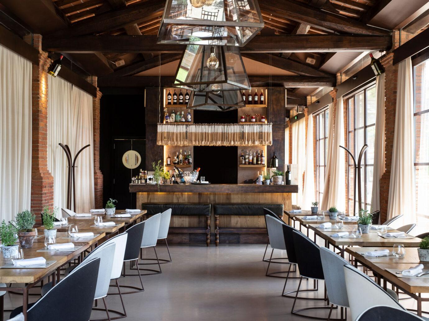 Dining area at at Il Borro