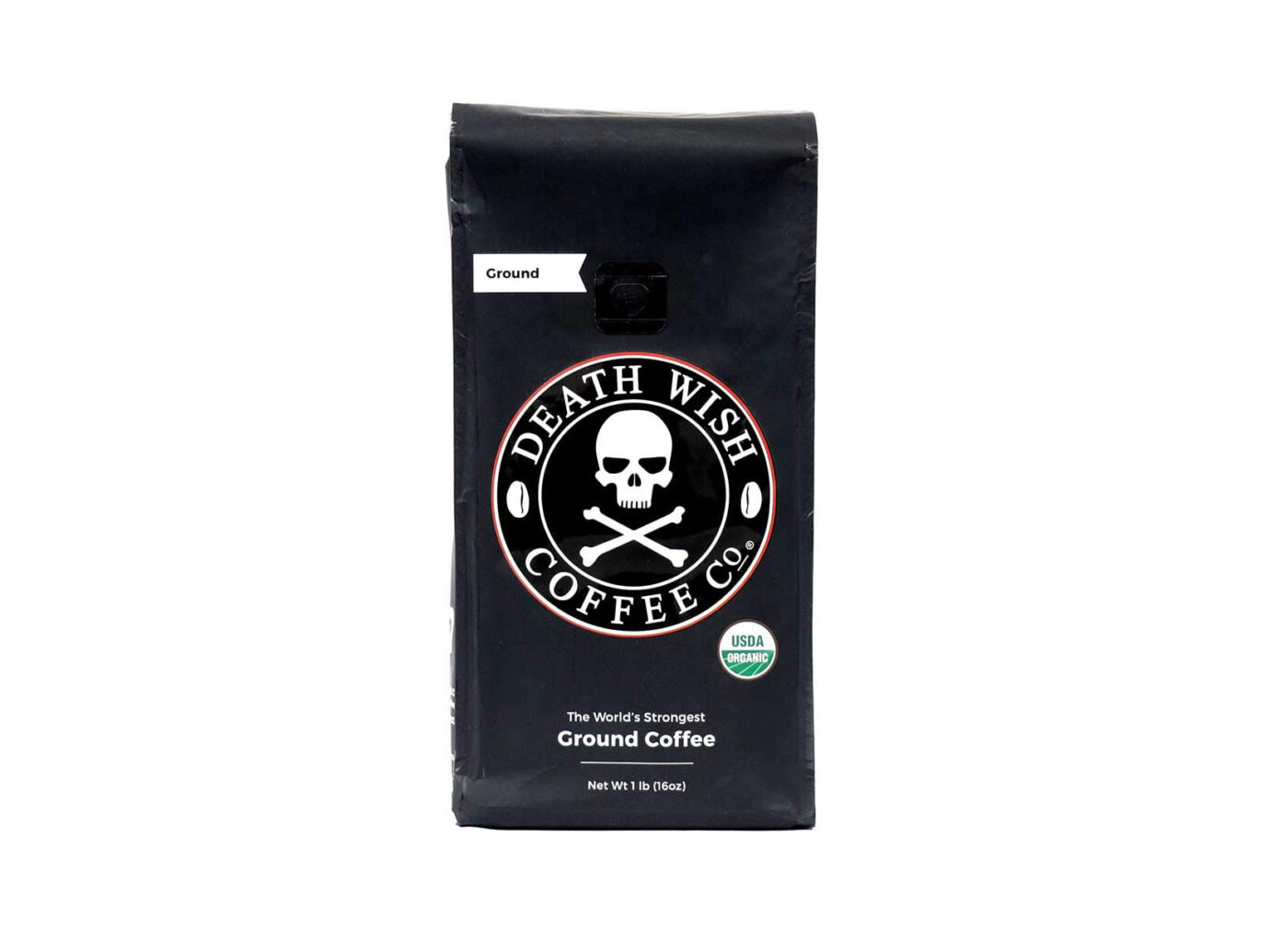 Death Wish Organic Fair Trade Ground Coffee