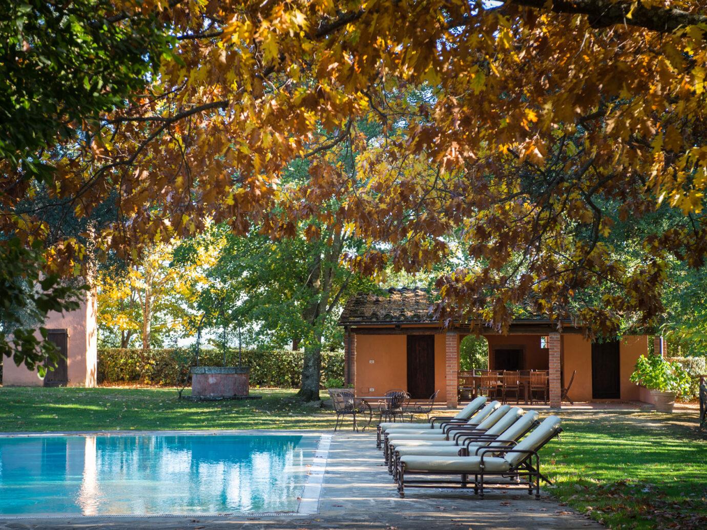 pool at Il Borro