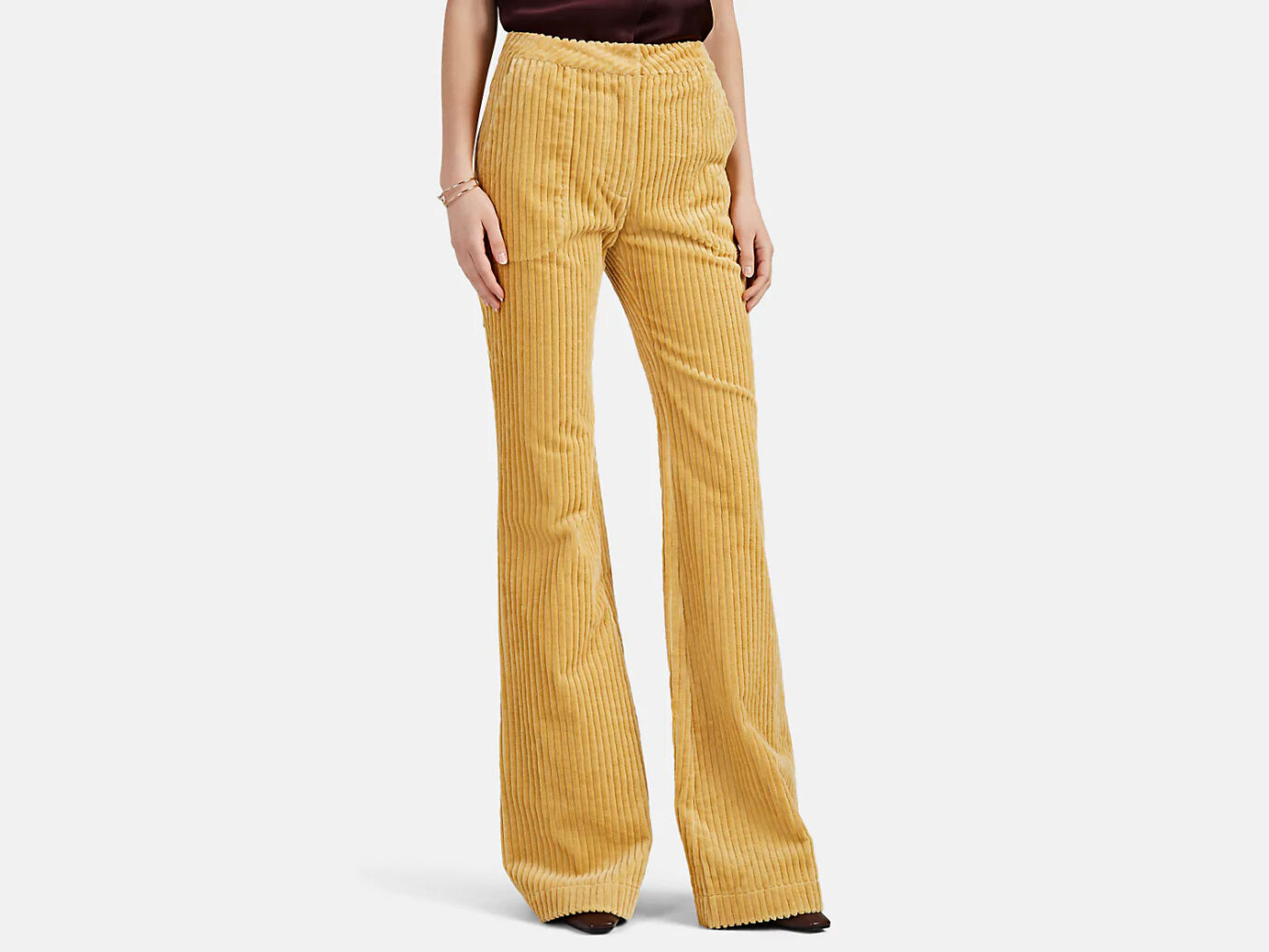 LAND OF DISTRACTION Bruce Corduroy Flared Trousers