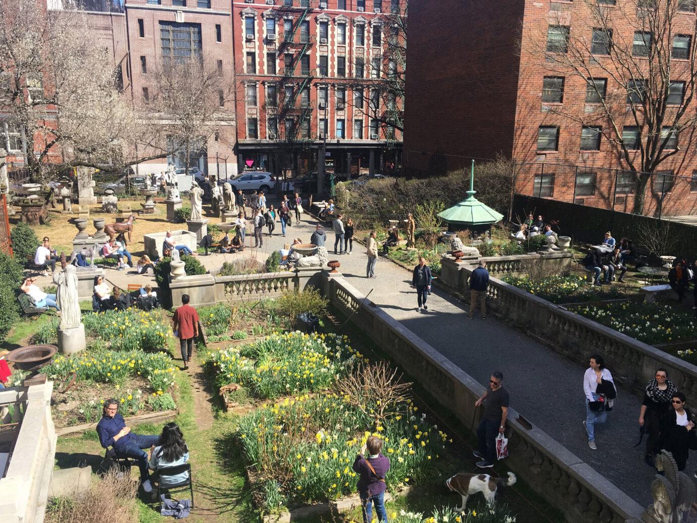 Elizabeth Street Garden, NYC